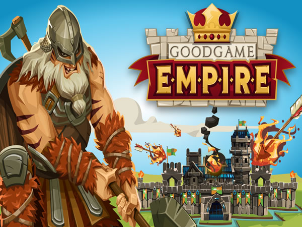 Goodgame Empire cez celú obrazovku
